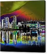 City Fantasy Canvas Print