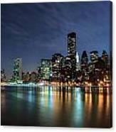 City Glares Canvas Print