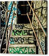 City Grunge Canvas Print