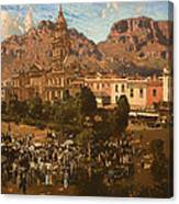 City Hall - Capetown 1917 Canvas Print