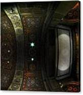 City Hall Ceiling Talents Diversified Find Vent In Myriad Form Canvas Print