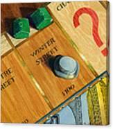 City Island Monopoly Iv Canvas Print