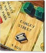 City Island Monopoly Vii Canvas Print