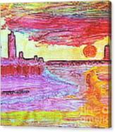 City Landscape 100 Canvas Print