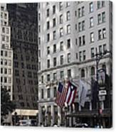 City Life - New York City Canvas Print
