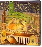 City Light Star Light Canvas Print