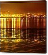 City Lights Peoria Il Canvas Print