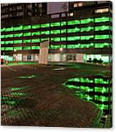 City Lights Urban Abstract Canvas Print