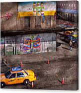 City - New York - Greenwich Village - Life's Color Canvas Print