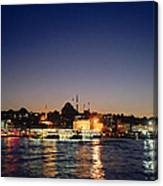 Colours Of Istanbul Canvas Print