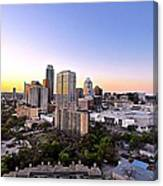 City Of Austin Texas Canvas Print