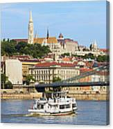 City Of Budapest Canvas Print