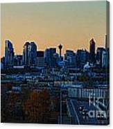 City Of Calgary Canvas Print