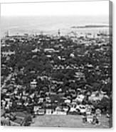 City Of Honolulu Canvas Print