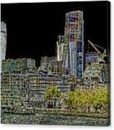 City Of London Art Canvas Print