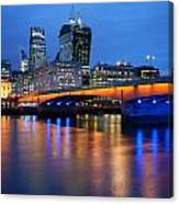 City Of London Canvas Print