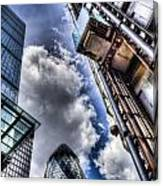 City Of London Iconic Buildings Canvas Print