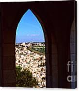 City Of Nazareth Canvas Print