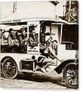 City Of Santa Monica Life Saveing Service Ocean Park Circa 1917 Canvas Print