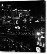 City Of Vegas 2008 Canvas Print