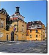 City Of Zagreb Historic Upper Town Canvas Print
