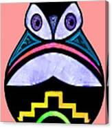 City Owl Canvas Print