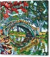 City Park Canvas Print