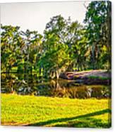 City Park New Orleans Canvas Print