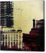 City Positive  Canvas Print