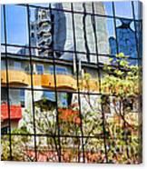 City Reflections By Diana Sainz Canvas Print