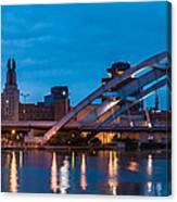 City Reflections IIi Canvas Print