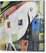 City Strut Canvas Print