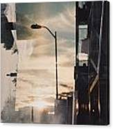 City Sunset 1 Canvas Print