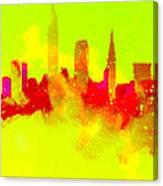 City Vibe Canvas Print