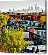 City View Five Canvas Print