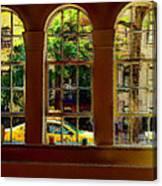 City Windows Canvas Print