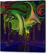 City World Canvas Print