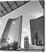 Citycenter - View Of The Vdara Hotel And Spa Located In Citycenter In Las Vegas  Canvas Print
