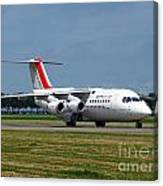 Cityjet British Aerospace Avro Rj85 Canvas Print