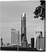 Cityscape 28 C Austin Canvas Print