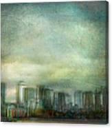 Cityscape #32. Chrystalhenge Canvas Print