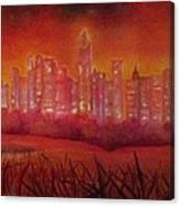 Cityscape Gold Coast Canvas Print
