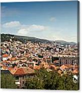Cityscape Of Sibenik Croatia Canvas Print