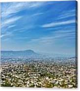 Cityscape Of Tuxtla Chiapas Canvas Print