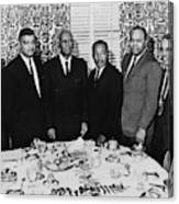 Civil Rights Leaders, 1963 Canvas Print