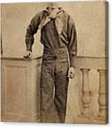 Civil War. A Negro Sailor, Charles Canvas Print