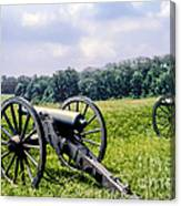 Civil War Cannons Canvas Print