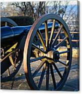 Civil War Cannon Canvas Print