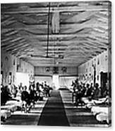 Civil War: Hospital, 1865 Canvas Print