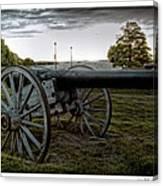 Civil War Rifles Canvas Print